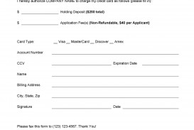 006 Frightening Credit Card Authorization Template Highest Clarity  Form For Travel Agency Free Download Google Doc