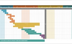 006 Frightening Excel Project Timeline Template Free Sample  2010 Download Planner