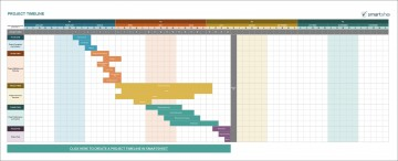 006 Frightening Excel Project Timeline Template Free Sample  Simple Xl 2010 Download360