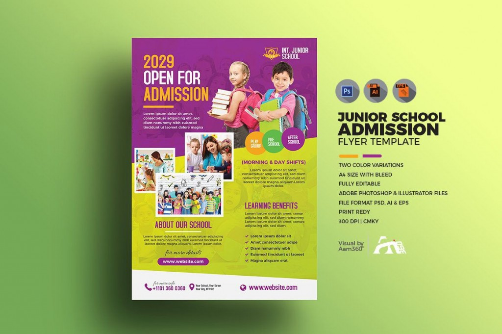 006 Frightening Free After School Program Flyer Template High Definition Large