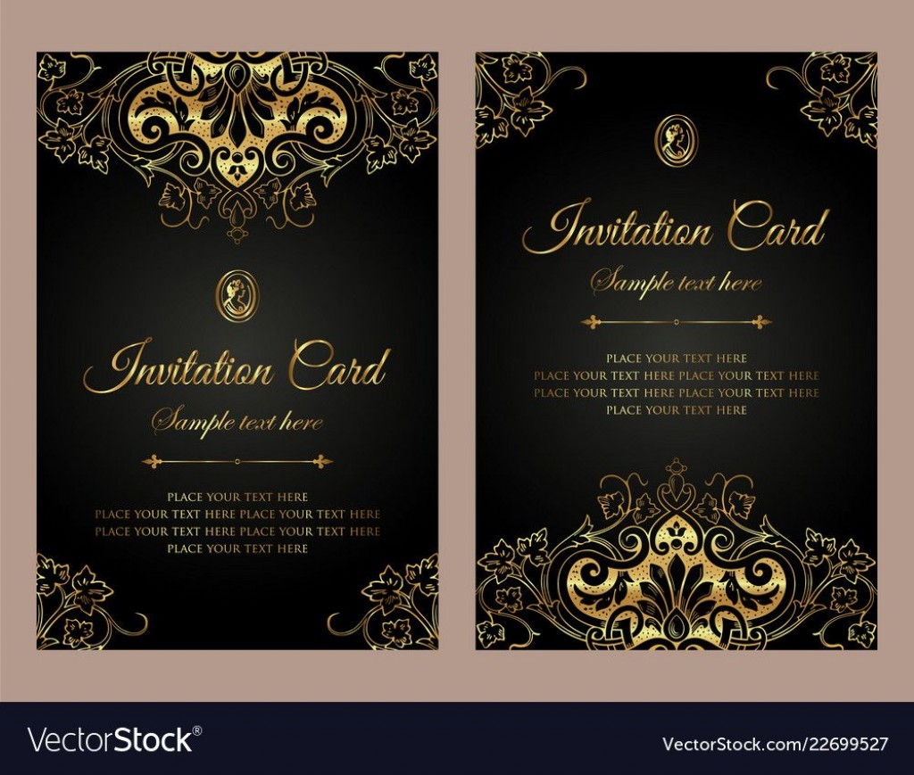 006 Frightening Free Download Formal Invitation Card Template Photo  SampleLarge