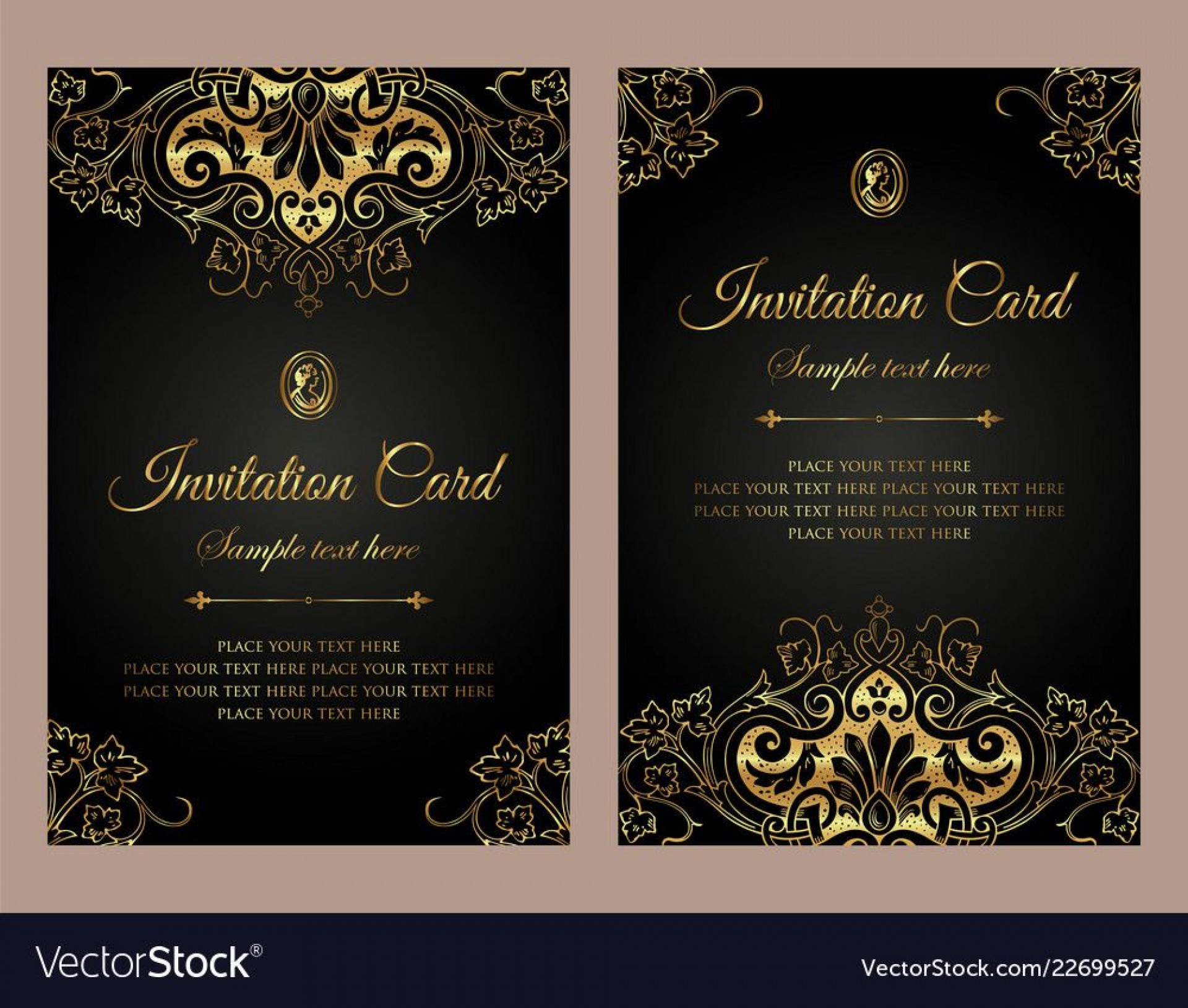 006 Frightening Free Download Formal Invitation Card Template Photo  Sample1920