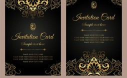 006 Frightening Free Download Formal Invitation Card Template Photo  Sample