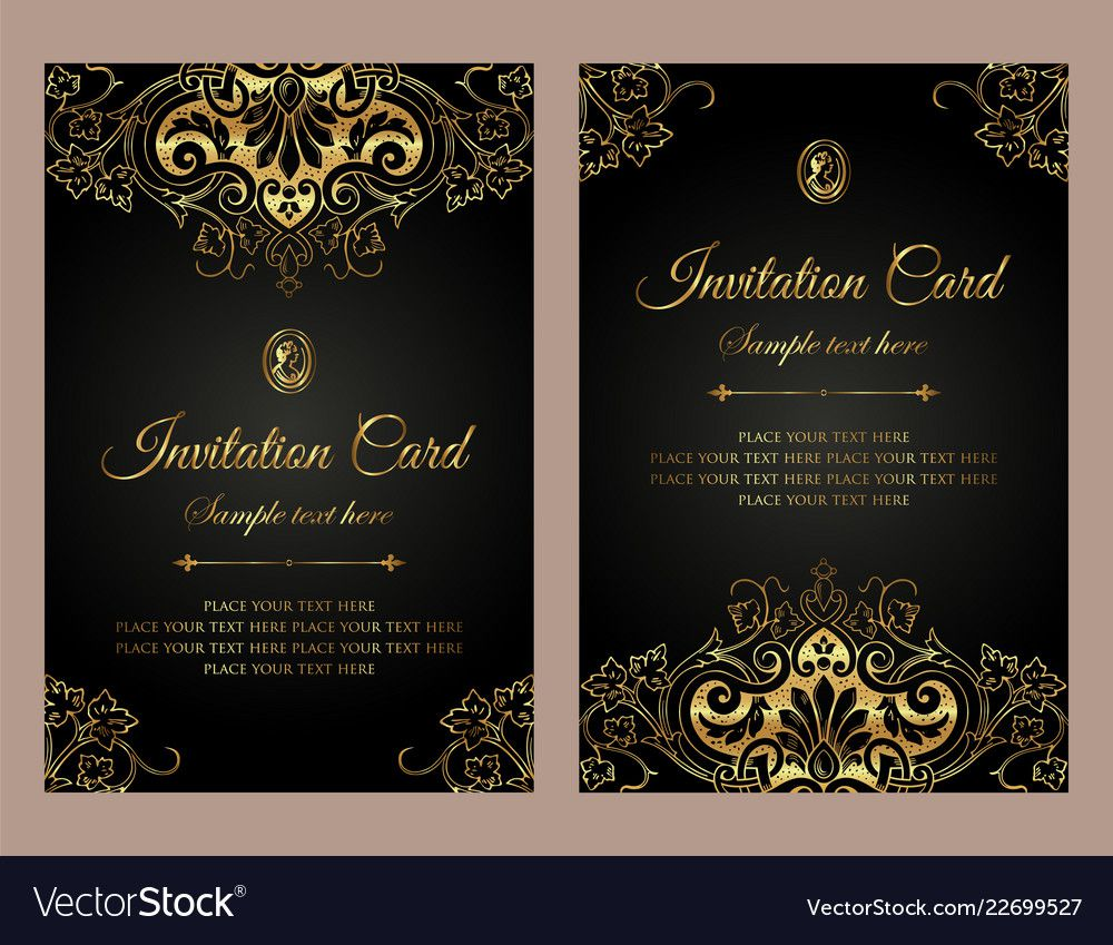 006 Frightening Free Download Formal Invitation Card Template Photo  SampleFull