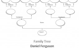 006 Frightening Free Editable Family Tree Template Design  Templates Pdf Powerpoint With Photo