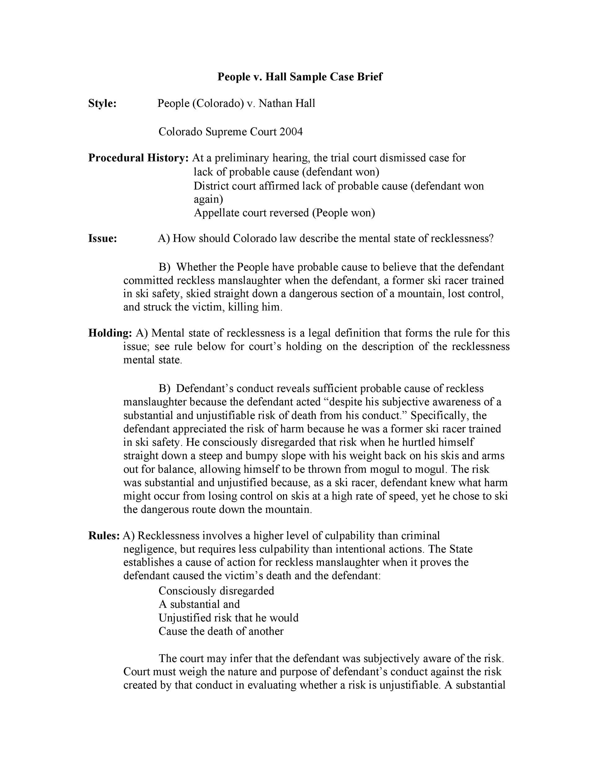 006 Frightening Legal Brief Template Word Sample  Case MicrosoftFull