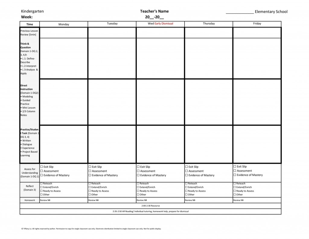 006 Frightening Lesson Plan Template For Kindergarten Common Core Highest Quality Large