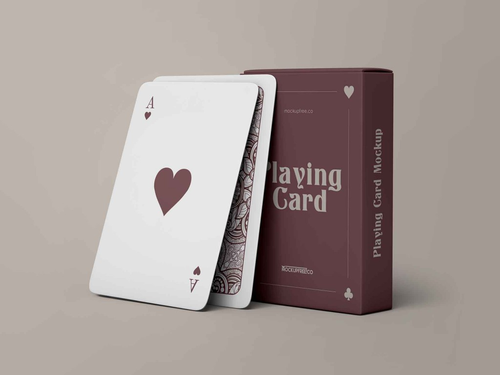 006 Frightening Playing Card Template Free Download Highest Clarity  BlankLarge