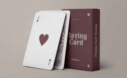 006 Frightening Playing Card Template Free Download Highest Clarity  Blank