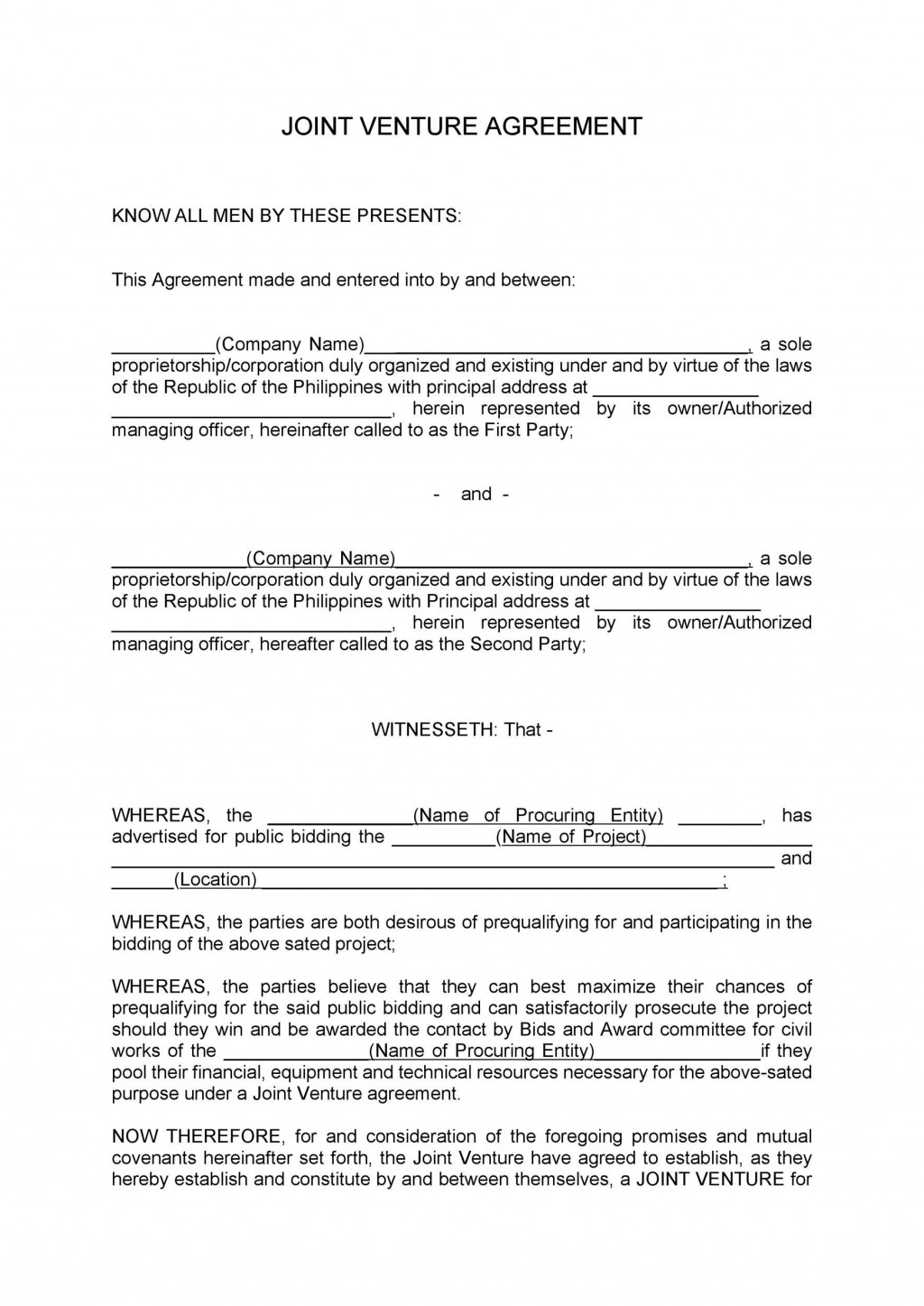 006 Frightening Property Management Contract Sample Philippine Concept Large