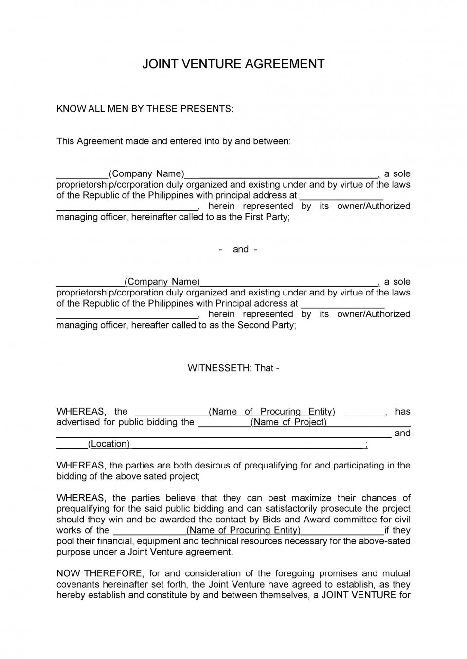 006 Frightening Property Management Contract Sample Philippine Concept 960