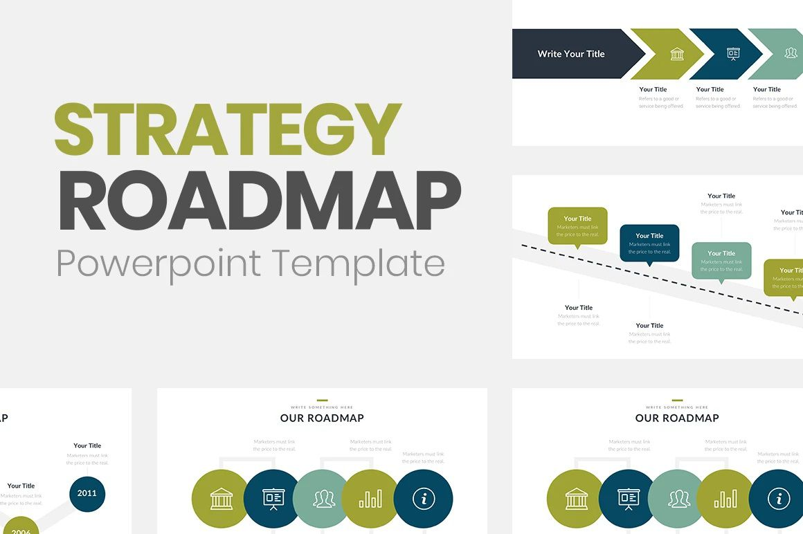 006 Frightening Road Map Template Powerpoint Picture  Roadmap Ppt Free Download ProductFull