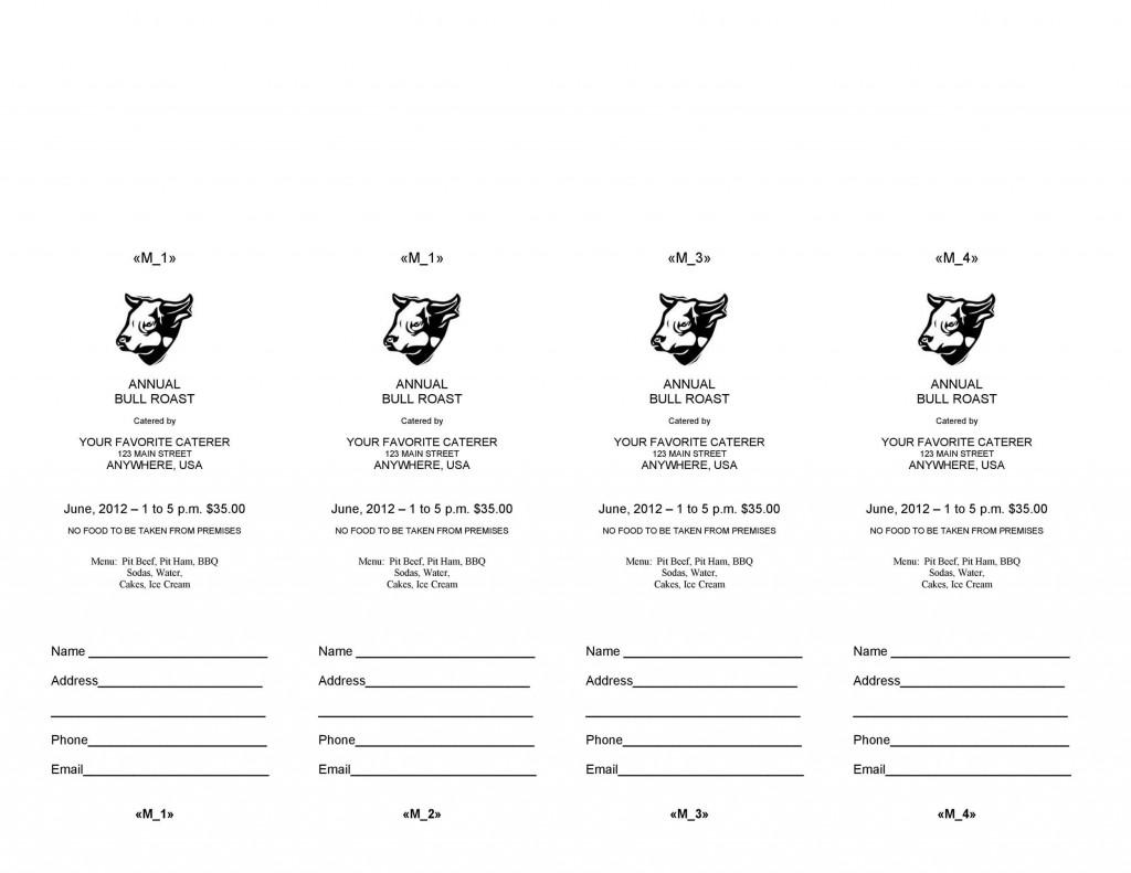 006 Frightening Word Raffle Ticket Template Highest Clarity  2010 Free Printable MicrosoftLarge