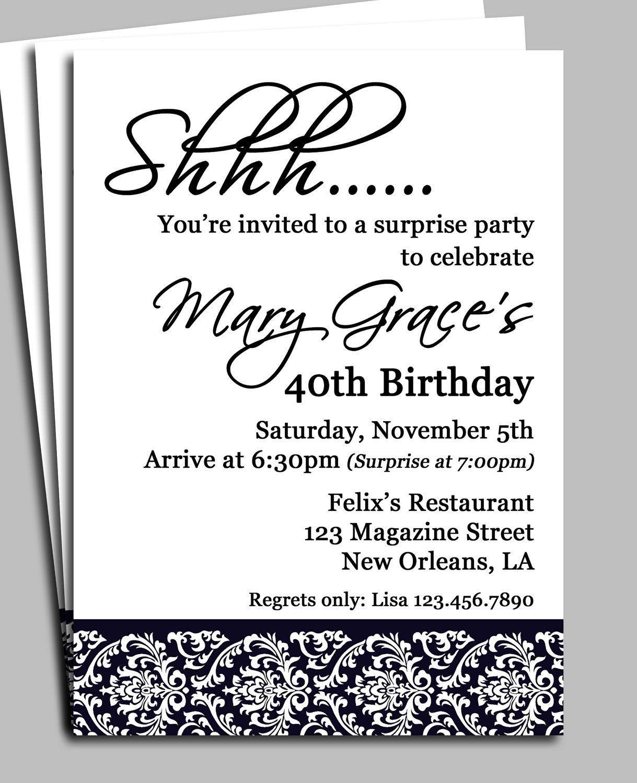 006 Imposing Birthday Invitation Wording Example Sample  Examples Party Invite Brunch IdeaFull