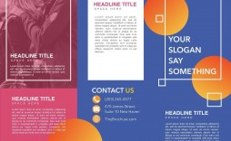 006 Imposing Brochure Template For Google Doc Picture  Docs Free 3 Panel Tri Fold