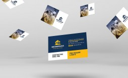 006 Imposing Construction Busines Card Template High Resolution  Templates Visiting Company Format Design Psd