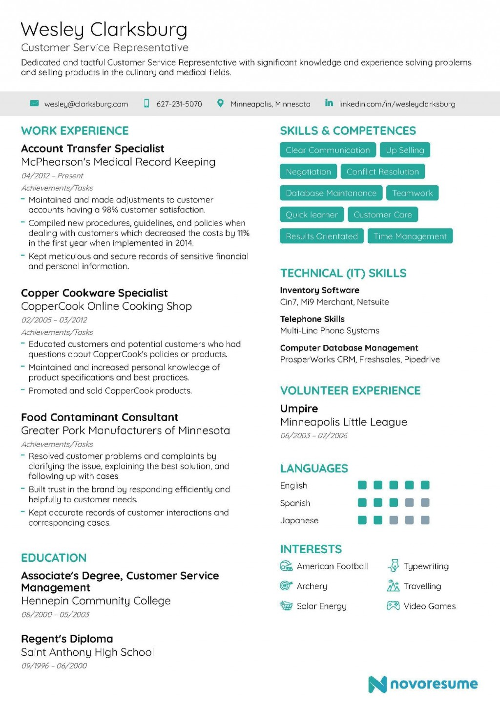 006 Imposing Customer Service Resume Template Image  Templates 2018 Word CvLarge