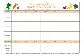 006 Imposing Excel Weekly Meal Planner Template Highest Quality  With Grocery List Downloadable