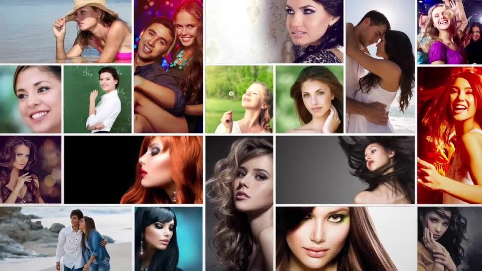 006 Imposing Free Photo Collage Template After Effect High Definition  Download960