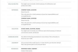 006 Imposing Free Printable Resume Template Blank Design  Fill
