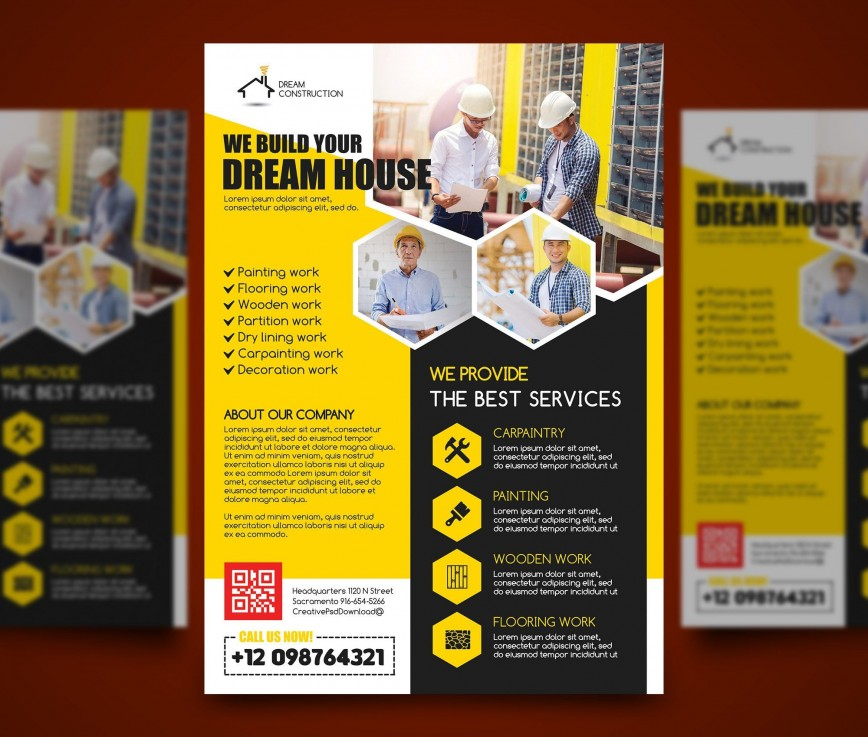 006 Imposing Free Word Flyer Template High Resolution  Templates Event Microsoft Real Estate Document