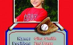 006 Imposing Photoshop Baseball Magazine Cover Template High Definition