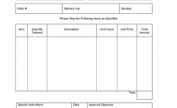 006 Imposing Purchase Order Template Free High Definition  Log M Acces Blanket