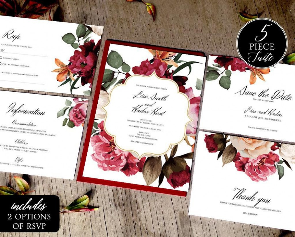 006 Imposing Sample Wedding Invitation Template Image  Templates Wording CardLarge