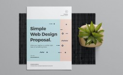 006 Imposing Web Design Proposal Template High Def  Designer Writing Word Document Simple