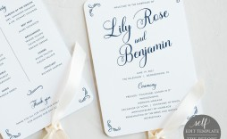 006 Imposing Wedding Program Fan Template Inspiration  Free Word Paddle Downloadable That Can Be Printed