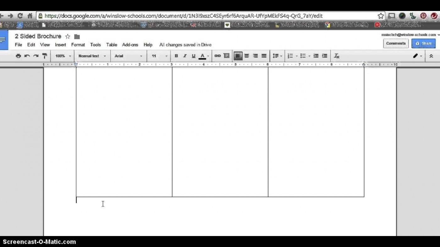 006 Impressive 3 Fold Brochure Template Doc Example  Google1400