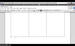 006 Impressive 3 Fold Brochure Template Doc Example  Docs Google
