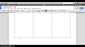 006 Impressive 3 Fold Brochure Template Doc Example  Google360