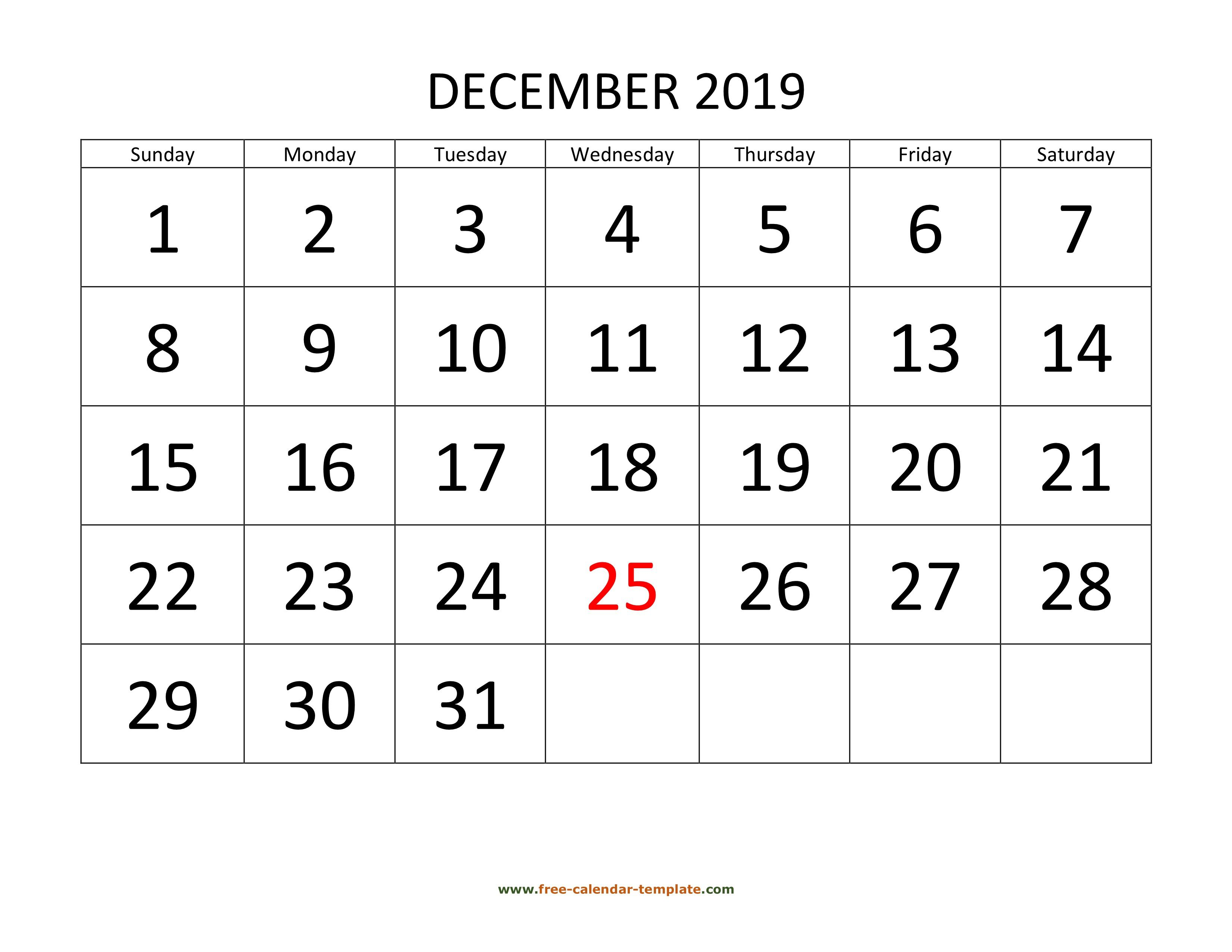 006 Impressive Calendar Template Free Download Highest Quality  2020 Powerpoint Table Design 2019 MalaysiaFull