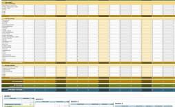 006 Impressive Cash Flow Template Excel Concept  2007 Download