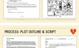 006 Impressive Comic Book Script Writing Format Inspiration  Example