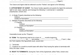 006 Impressive Commercial Property Management Agreement Template Uk Picture