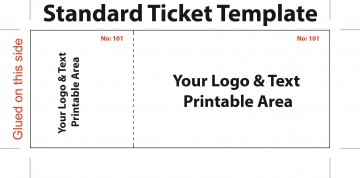 006 Impressive Concert Ticket Template Google Doc Picture 360