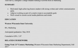 006 Impressive Current College Student Resume Template Concept