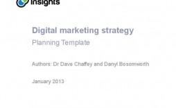 006 Impressive Digital Marketing Plan Example Doc  Template Sample