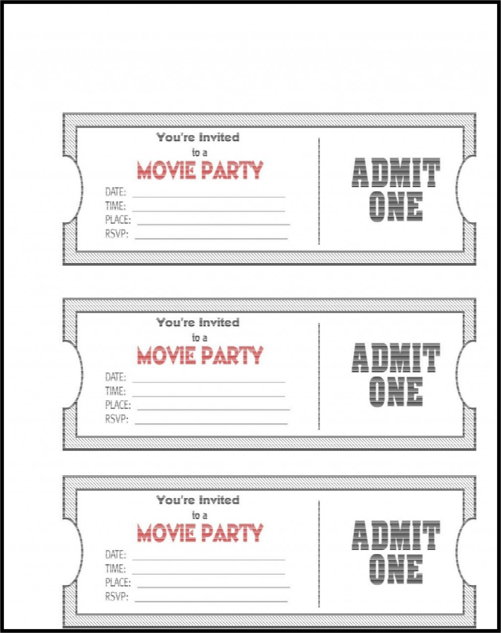 006 Impressive Editable Ticket Template Free High Definition  Word Airline RaffleLarge