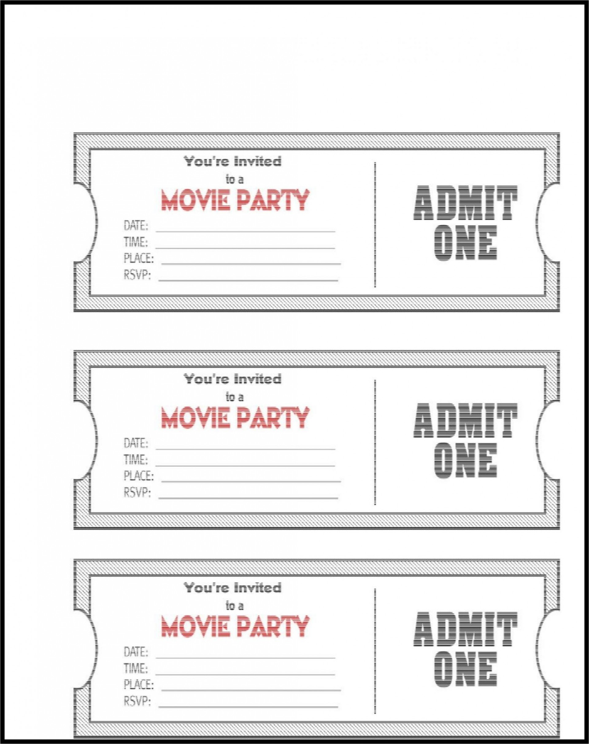 006 Impressive Editable Ticket Template Free High Definition  Word Airline Raffle1920