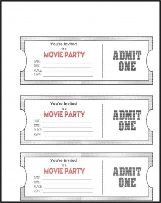 006 Impressive Editable Ticket Template Free High Definition  Concert Word Irctc Format Download Movie320