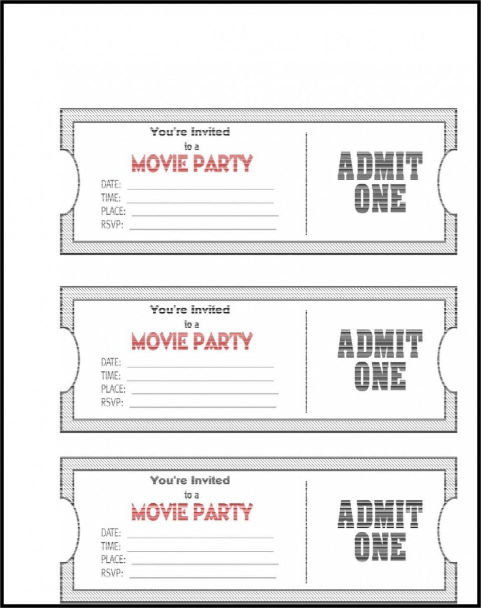 006 Impressive Editable Ticket Template Free High Definition  Concert Word Irctc Format Download Movie960