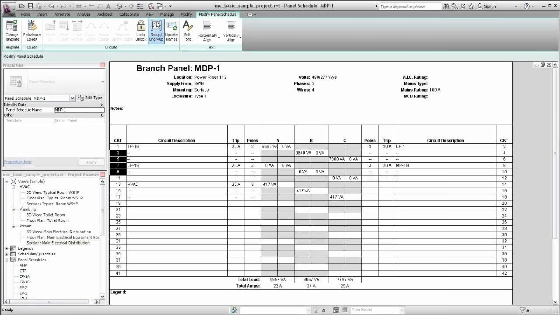006 Impressive Electrical Panel Schedule Template Excel Picture  Load Single Phase1920