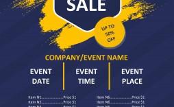006 Impressive Event Flyer Template Free Word Sample
