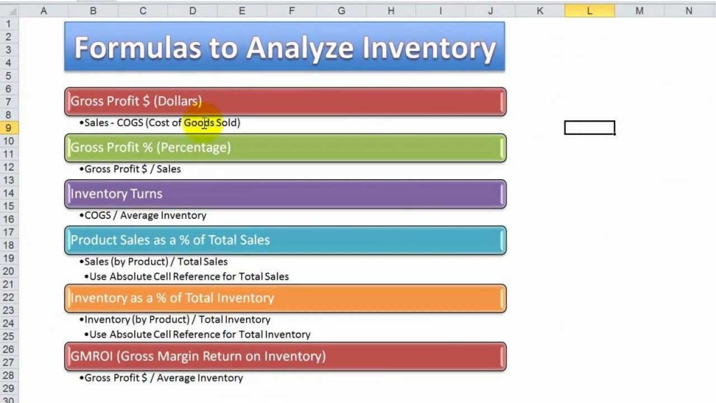 006 Impressive Excel Stock Inventory Template With Formula Highest Clarity  FormulasLarge
