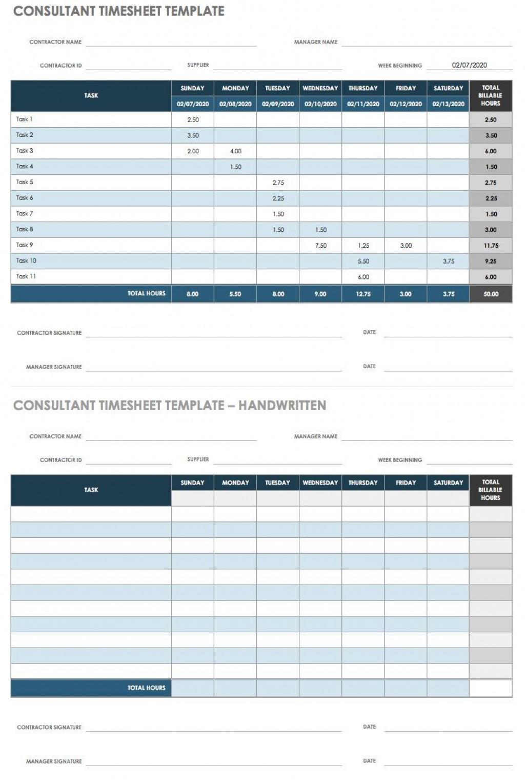 006 Impressive Excel Time Card Calculator Template High Def  EmployeeLarge