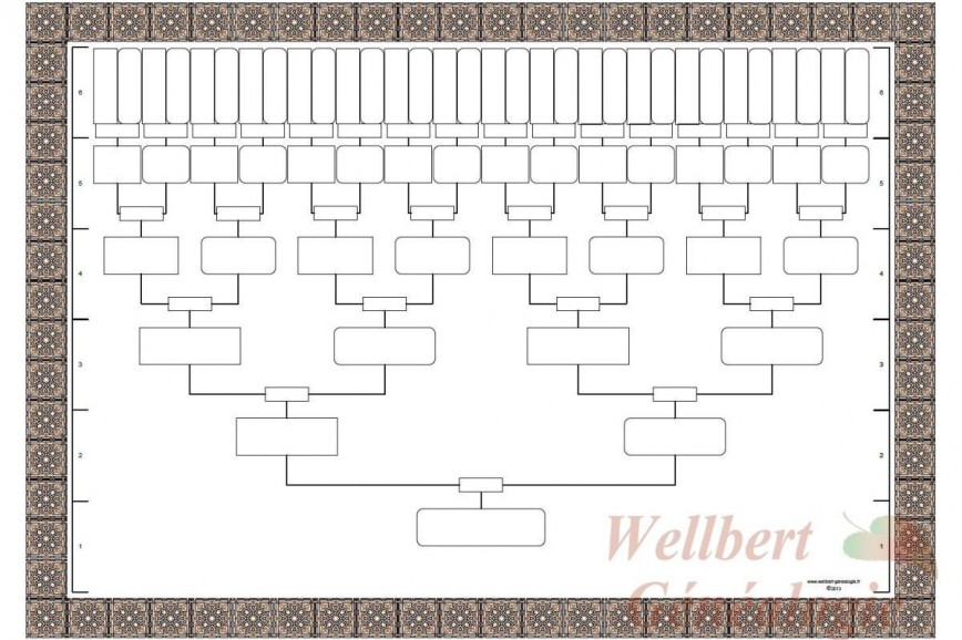 006 Impressive Family Tree Book Template Picture  Word History Photo Free