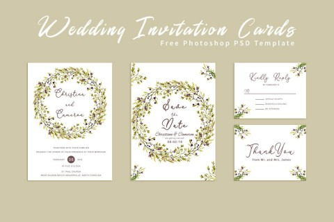 006 Impressive Free Download Invitation Card Template Psd Example  Indian Wedding Birthday480